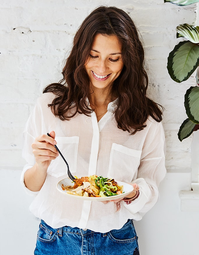 Jasmine Hemsley talks to The Glossary about her new book, slowing down, soul food and sound baths
