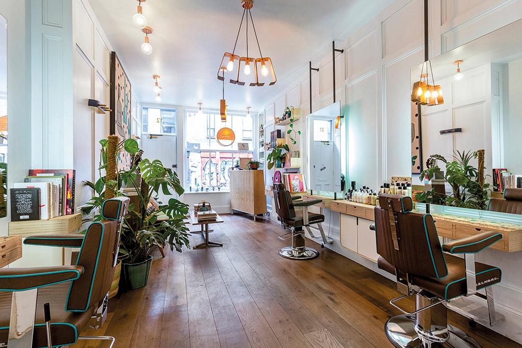 Ralph & Rice sustainable hair salon in East London