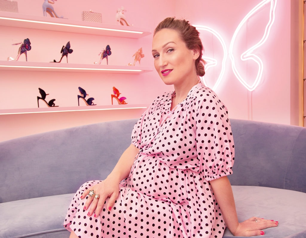 Pedicures, Champagne And Selfies: Inside Sophia Webster's New Sloane Avenue Store