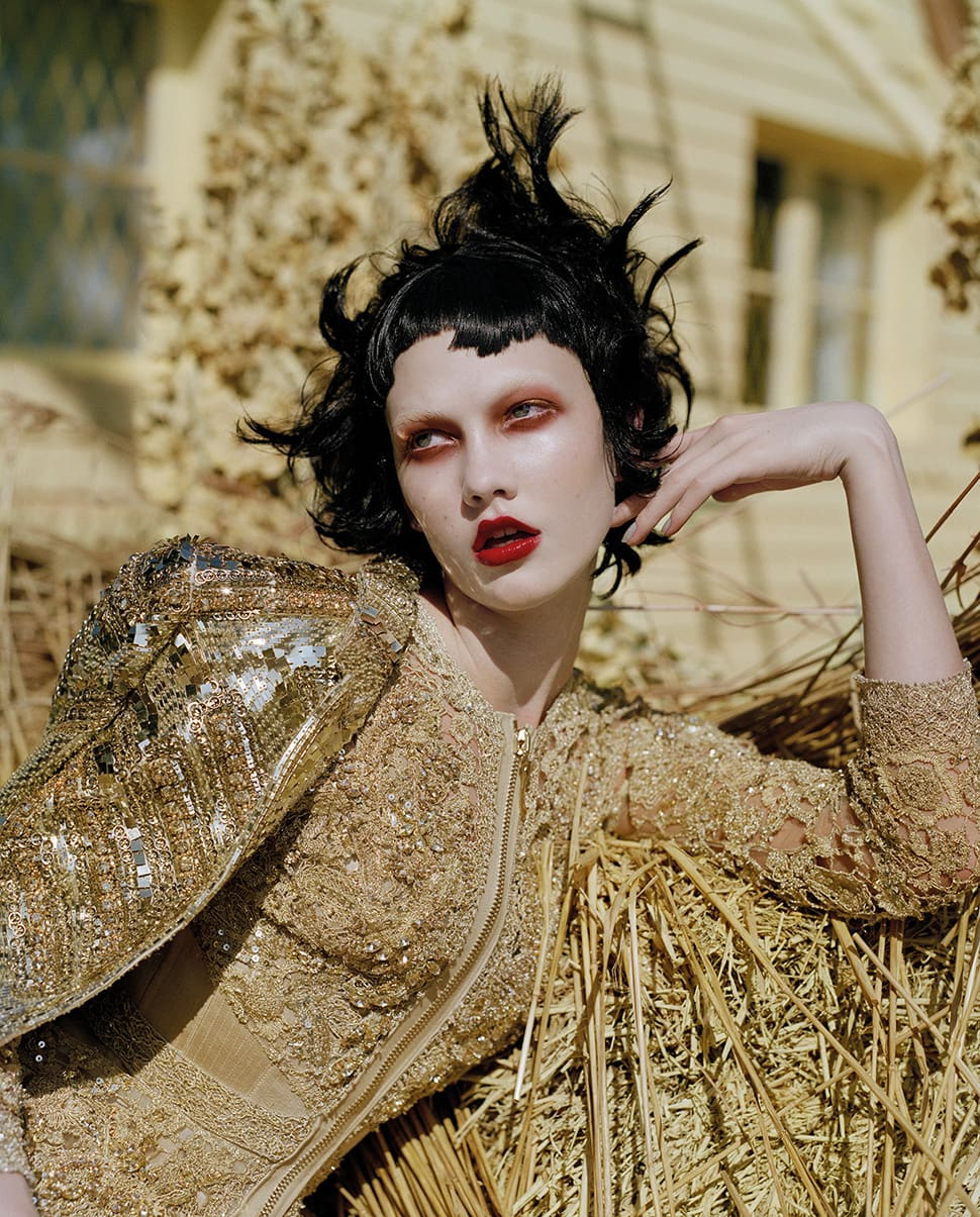 Karlie Kloss shot by Tim Walker with make up by Val Garland | The Glossary