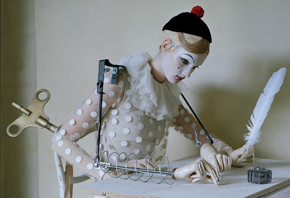 Kirsi Pyrhonen shot by Tim Walker makeup by Val Garland's for Vogue Italia | The Glossary