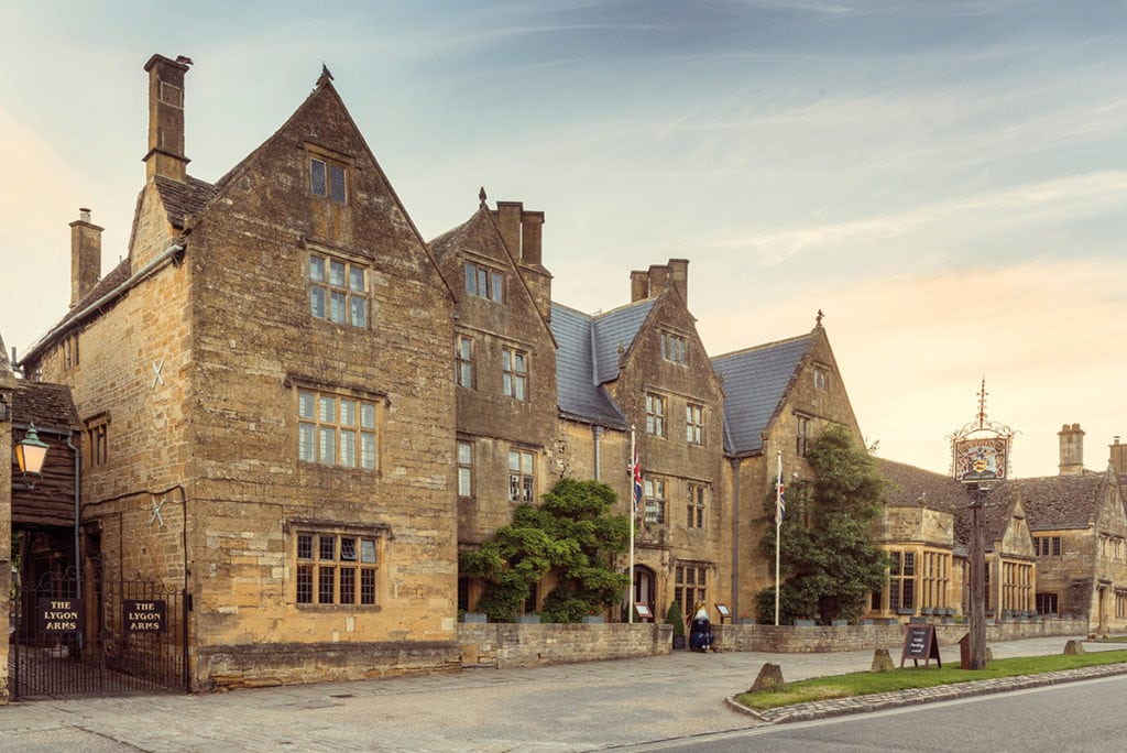 The Lygon Arms is a 16th century coaching inn in the Cotswold's picture perfect Broadway   The Glossary