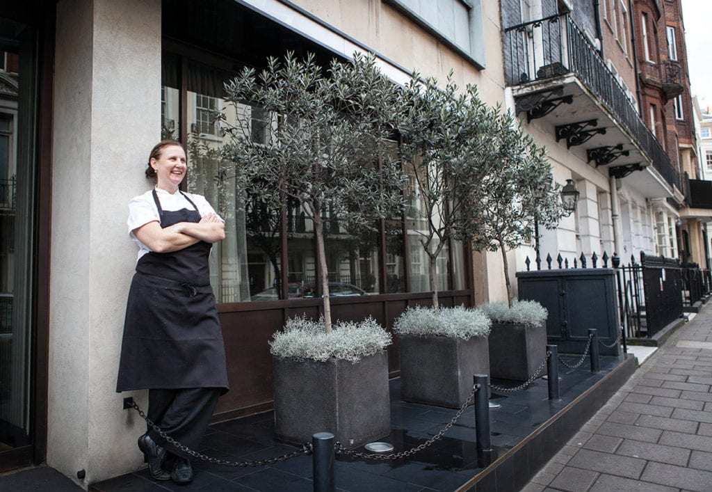 The Murano in Mayfair: Angela Harnett on turning 50, getting married, appearing on Desert Island Discs, and celebrating the 10-year-anniversary of her restaurant Murano, the Mayfair Italian which won a Michelin star within just four months of opening.