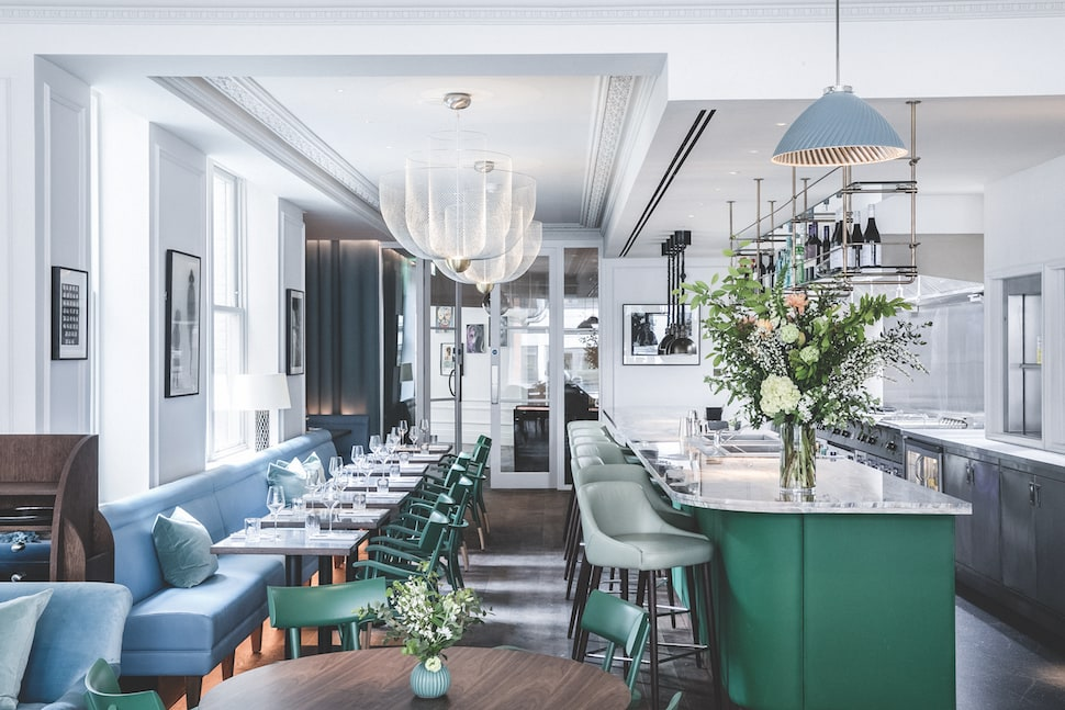 Interiors at AllBright Mayfair by Suzy Hoodless