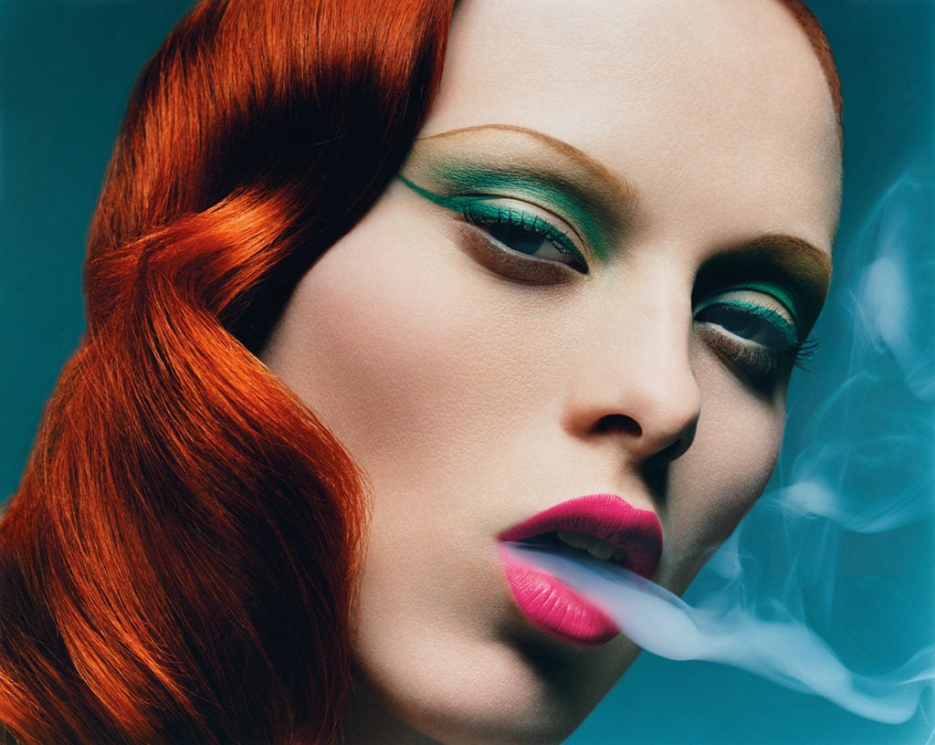Karen Elson shot by Solve Sundsbo for Val Garland's book Validated | The Glossary