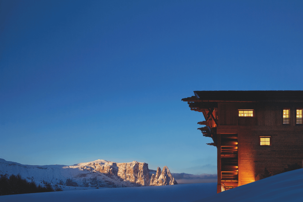 Adler Mountain Lodge in Alta Badia Italy