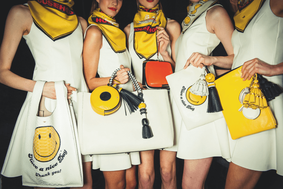 In the archive: Anya Hindmarch on the humour behind her handbags