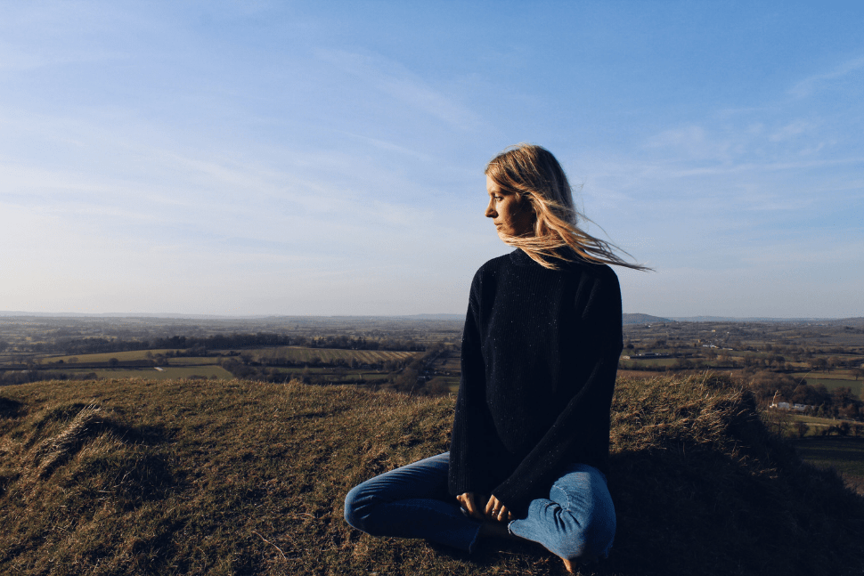 Connecting with nature helps nutritionist Xochi Balfour avoid burnout