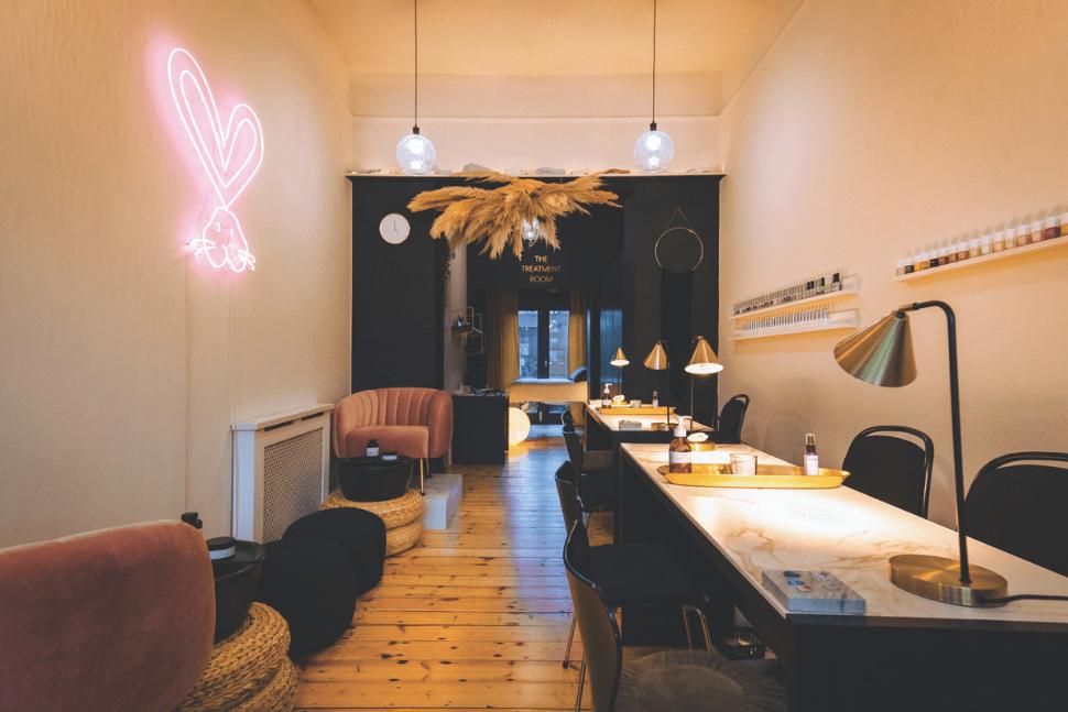 Inside STILL London holistic nail salon in Dalston, London