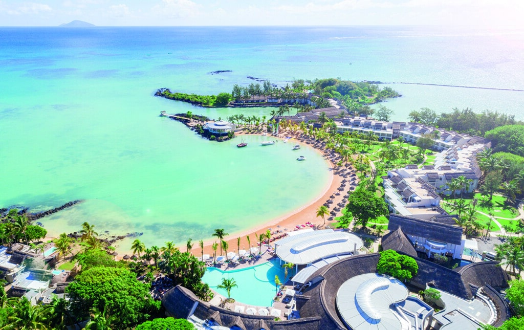 Behind Kelly Hoppen's modern reimagining of the LUX* Grand Gaube resort in Mauritius