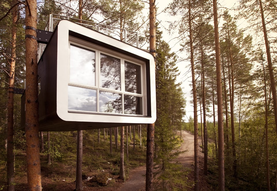 10 spectacular treehouse escapes to find solace in The Cabin at Treehotel Harads Sweden