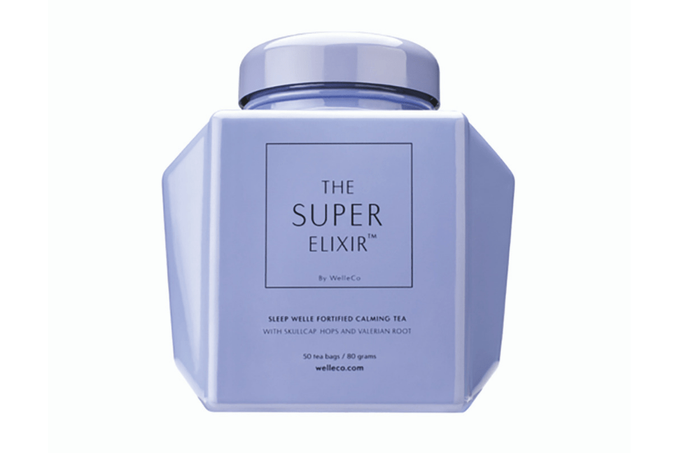 The Super Elixir sleep well fortified calming tea