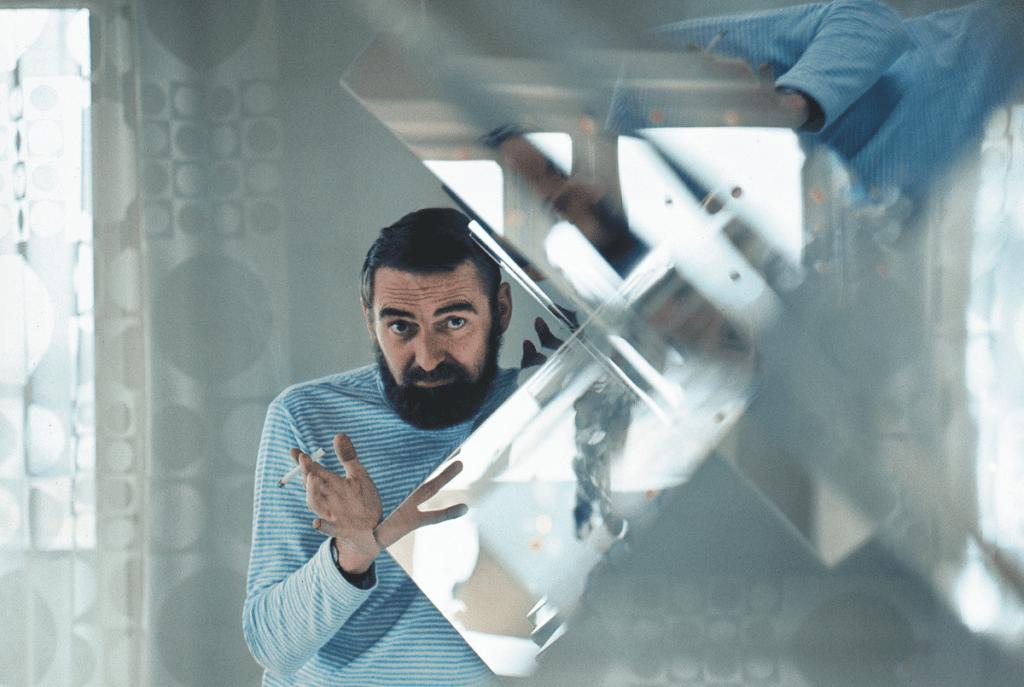 Step inside the psychedelic world of designer Verner Panton