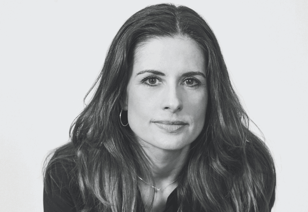 Black and white portrait of Livia Firth