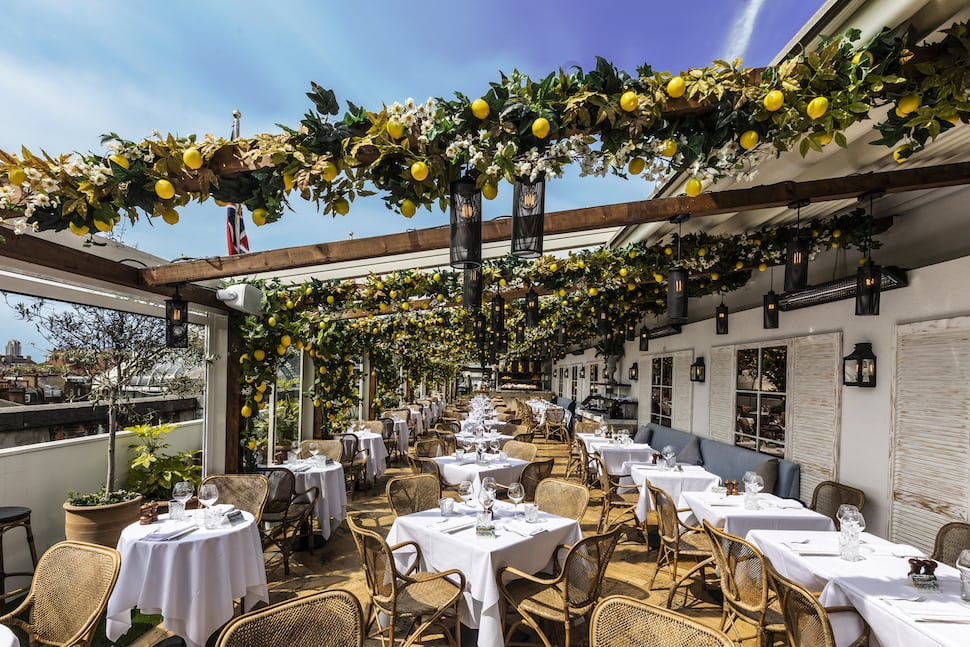 Alto by San Carlo rooftop restaurant at Selfridges London