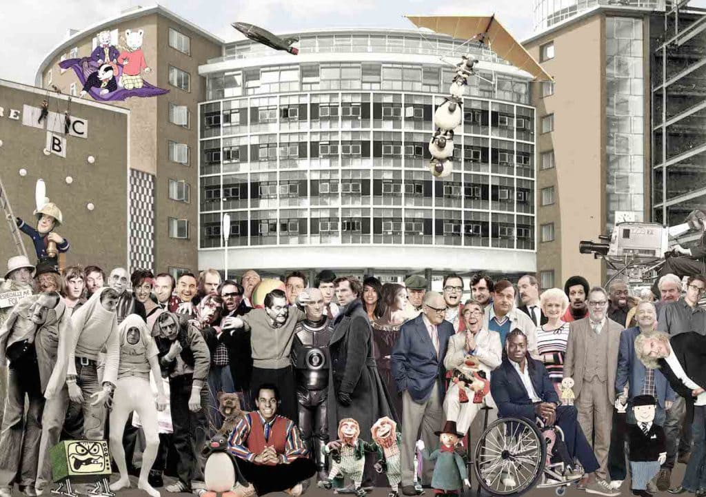 Artwork for White City House members' club by Peter Blake