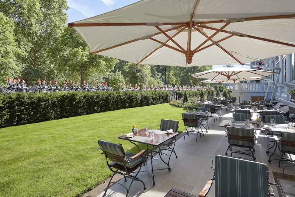 Bar Boulud Garden Terrace at Mandarin Oriental Hyde Park
