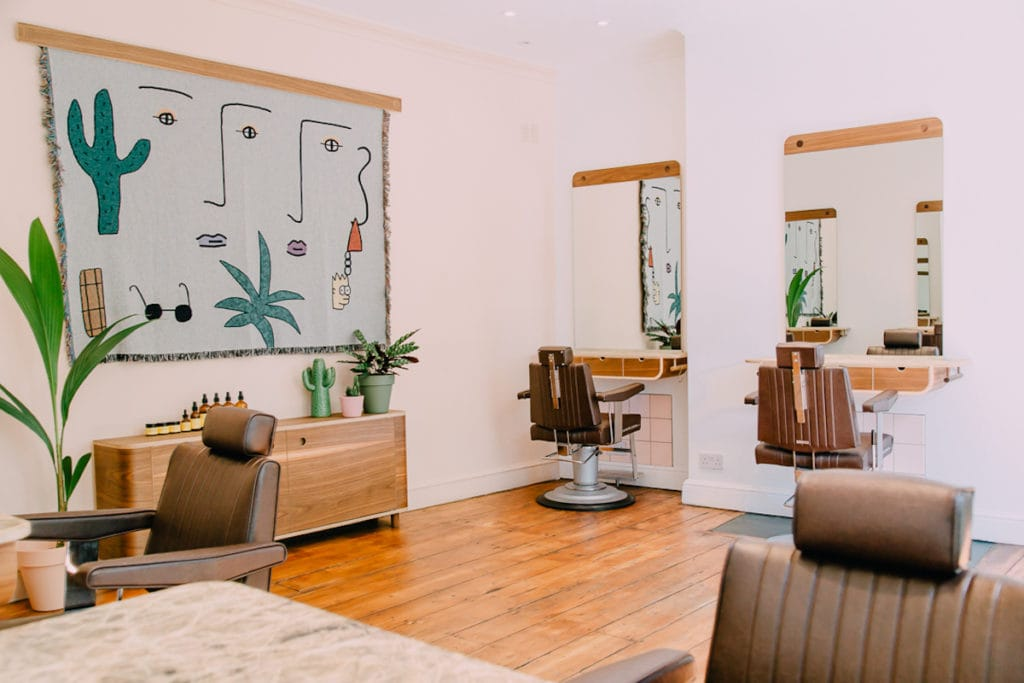 Buller & Rice hair salon in Newington Green
