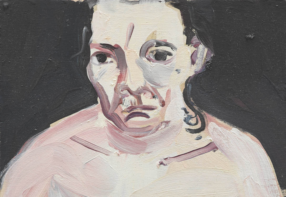 Chantal Joffe, Night Self-portrait © Chantal Joffe