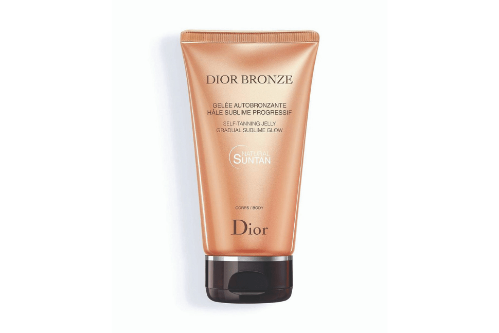 Dior Bronze self tanning jelly gradual gradual sublime glow
