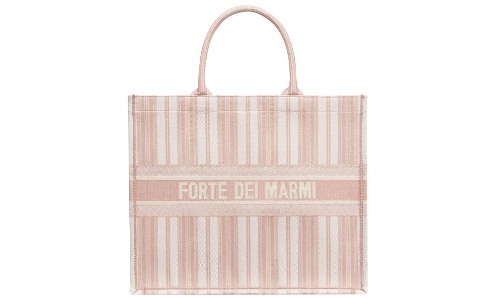 Dioriviera Forte dei Marmi Dior book tote bag pink