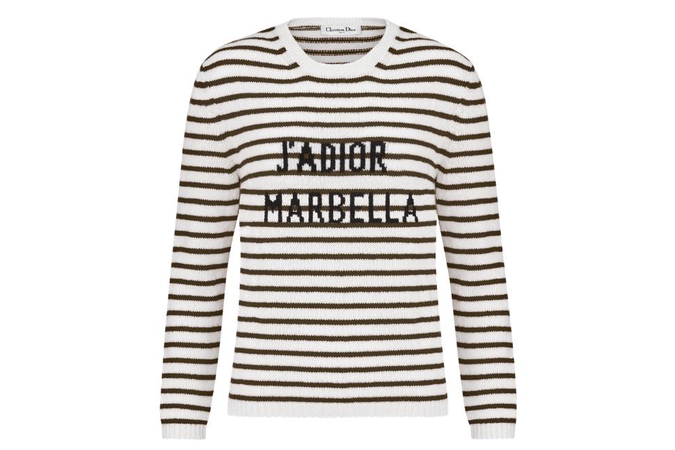 Dioriviera J'adior Marbella cashmere sweater