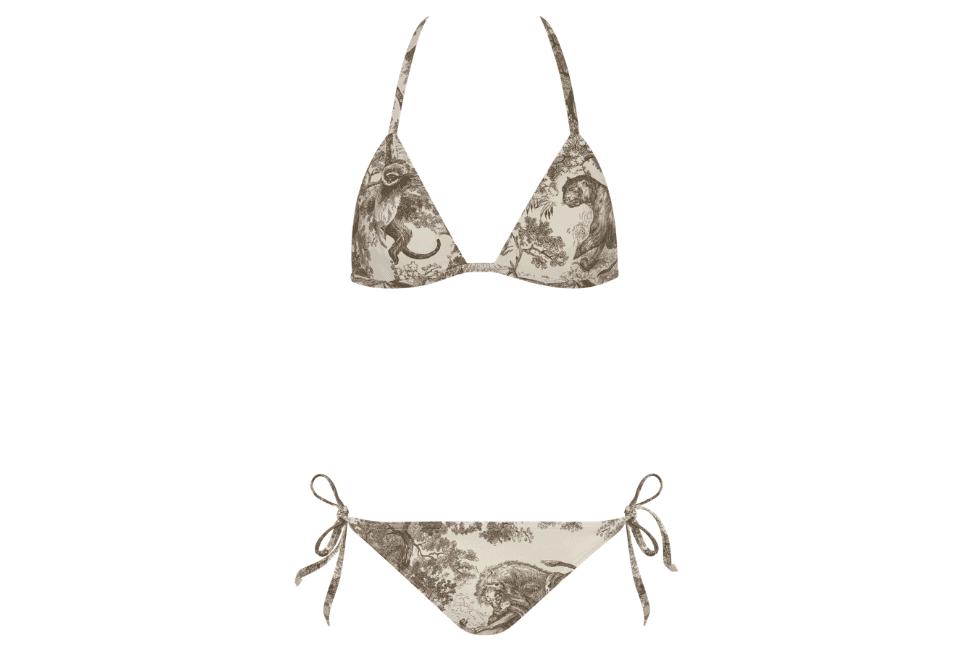 Dioriviera Toile de Jouy bikini top and bottoms