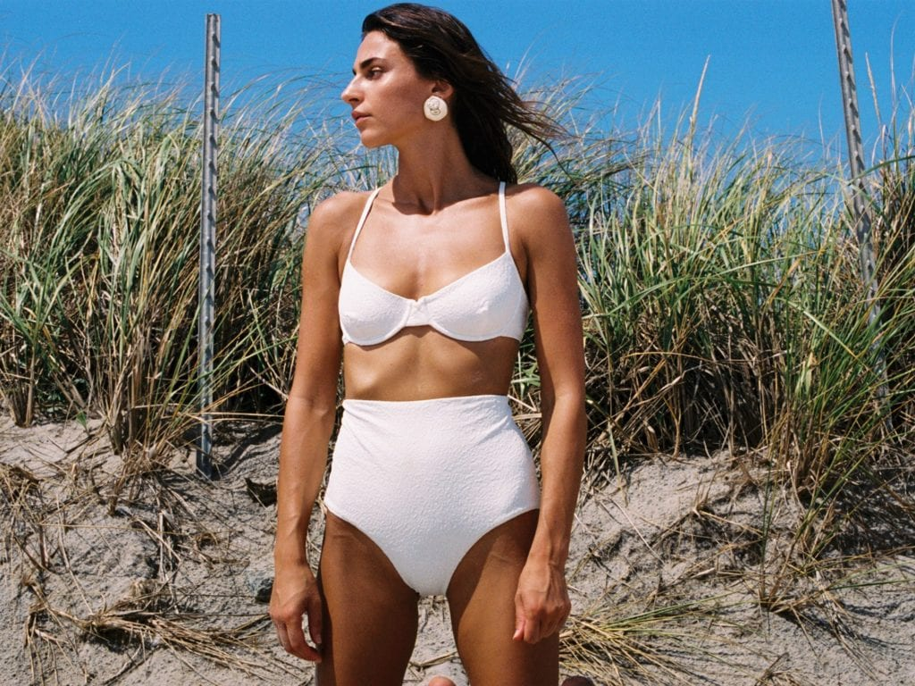 A guide to sustainable swimwear and the chic need-to-know brands making waves this summer