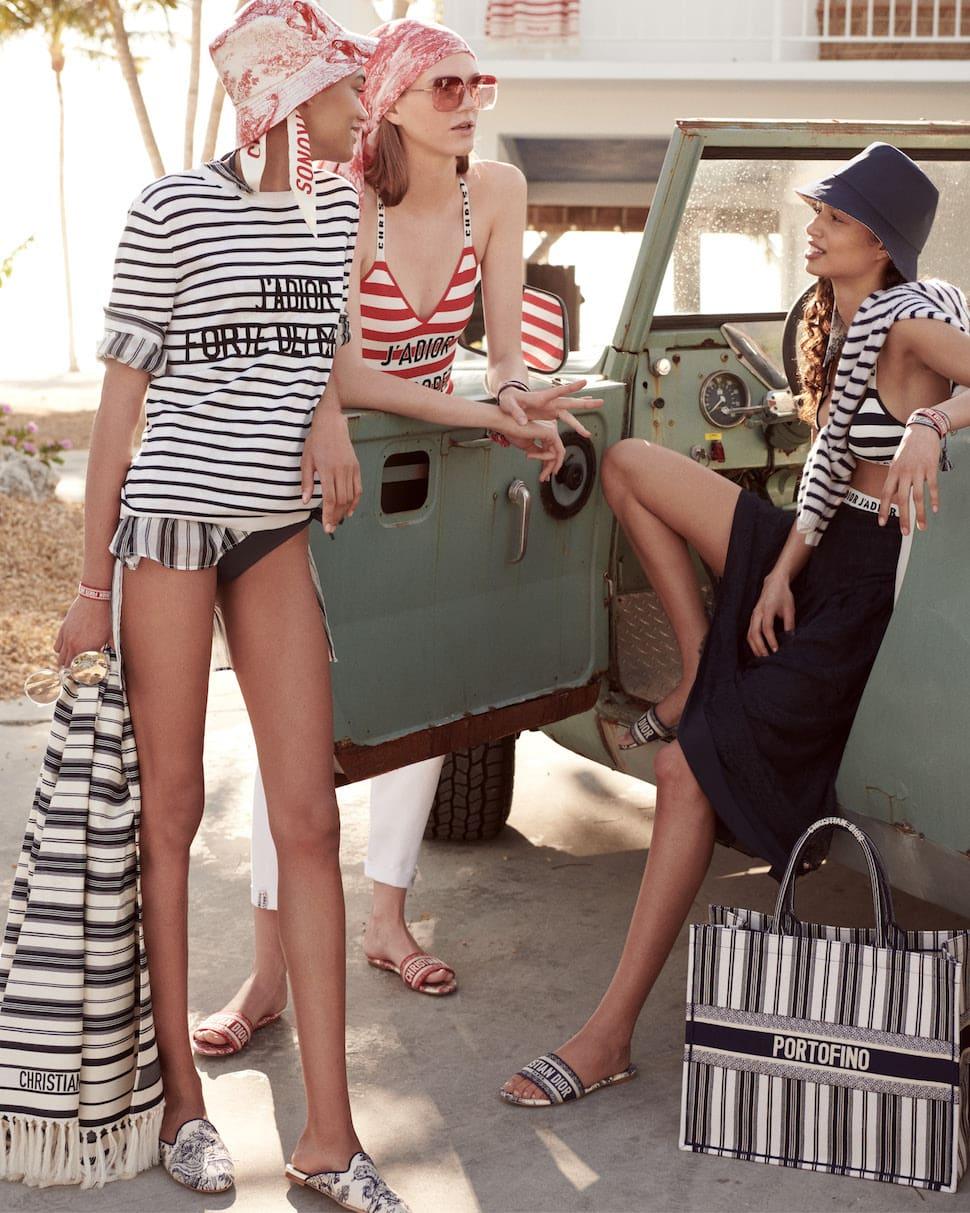 Dior Dioriviera beachwear collection AW19
