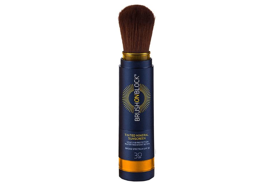 Brush on Block mineral powder sunscreen SPF 30