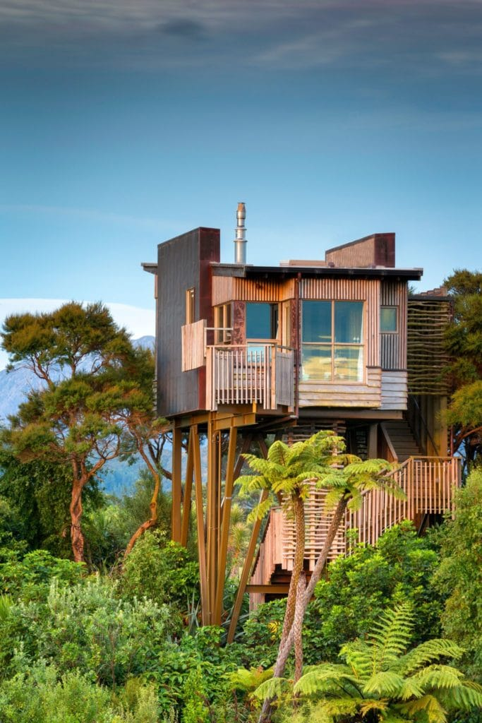 10 spectacular treehouse escapes to find solace in Hapuku