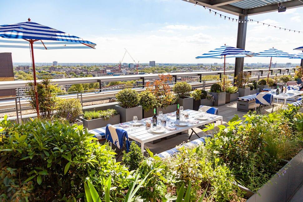 Skylark Roof Garden Restaurant