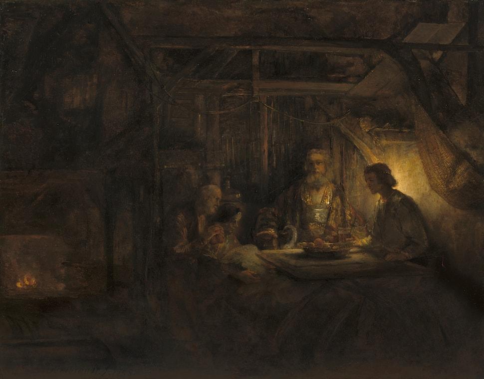 Philemon Baucis Rembrandt