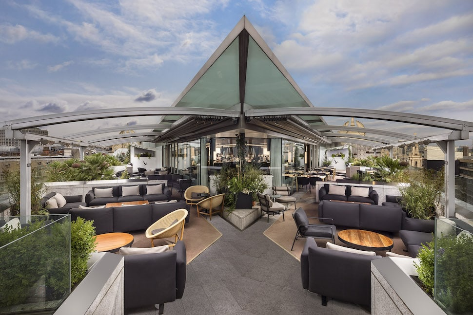 Radio Rooftop Bar ME London