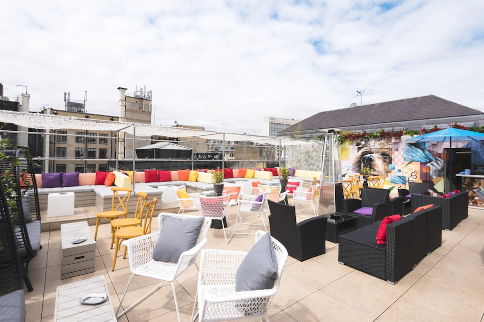 Toy Roof Terrace in Soho London