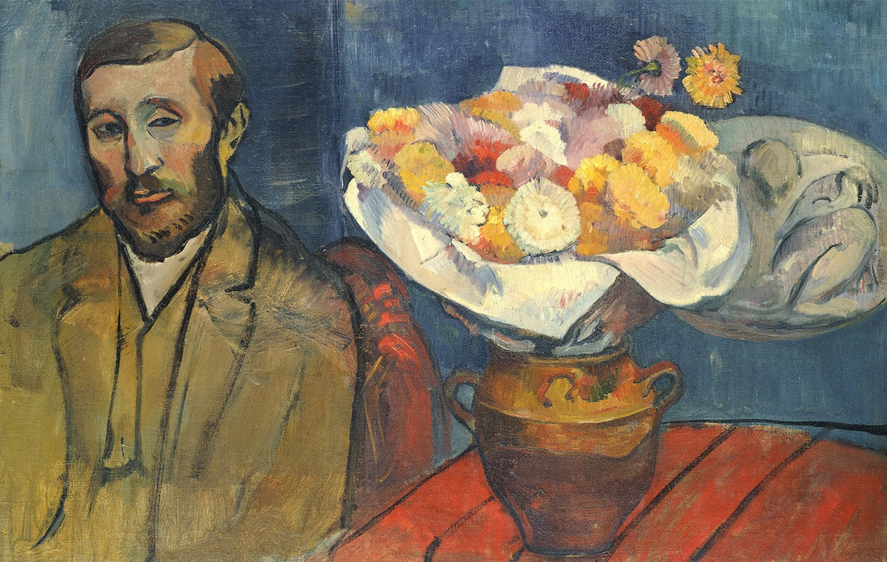 The best exhibitions to visit in London this autumn gauguin portrait of the painter slewinski 1