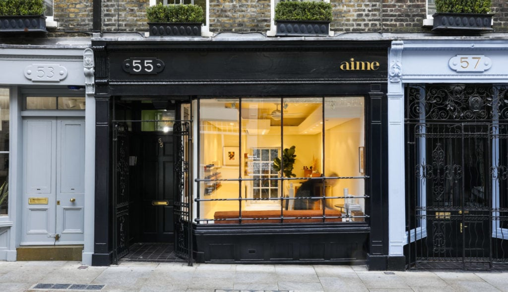 Aime store on Monmouth Street in London