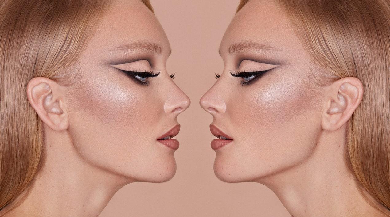 Feline eye make-up with Nikki Wolff x Sweed Lashes faslse eyelashes