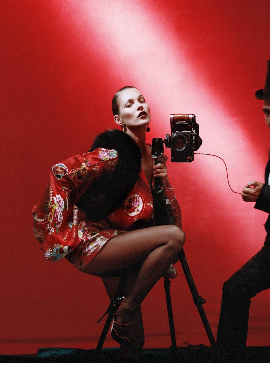 Kate Moss and John Galliano