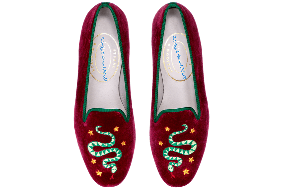 Luke Edward Hall Hydra Slippers Stubbs & Wootton