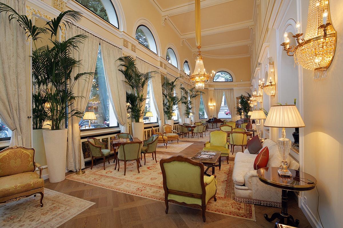 Palace Merano Espace Henri Chenot Dining Room
