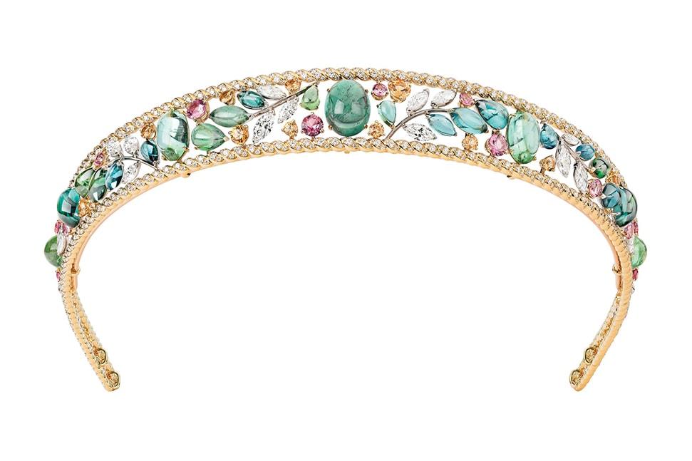 Chanel Blé Maria tiara