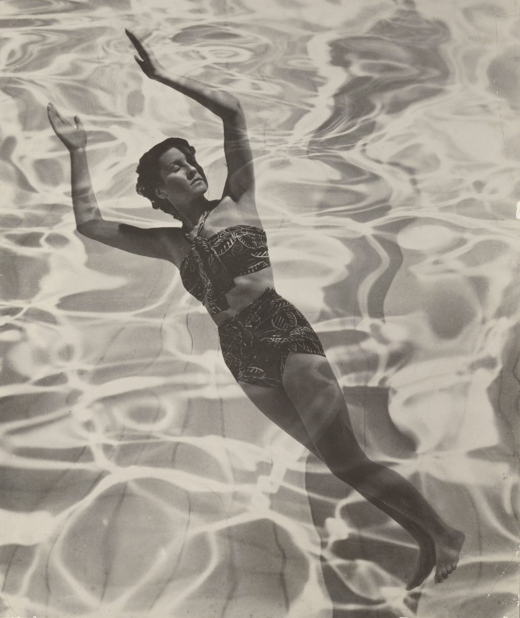 Model in Swimsuit 1936 Photograph