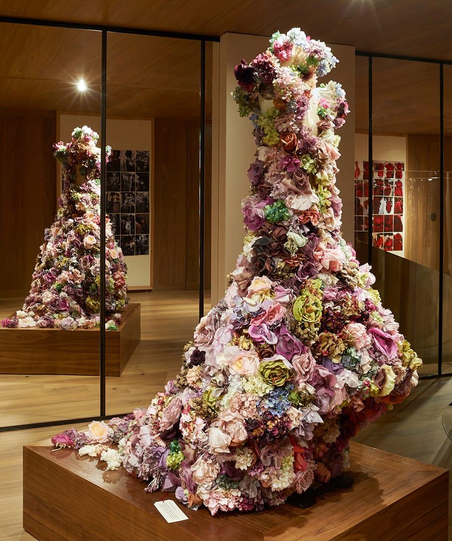 Inside the new Alexander McQueen exhibition <I>Roses</I> Alexander McQueen Roses floral