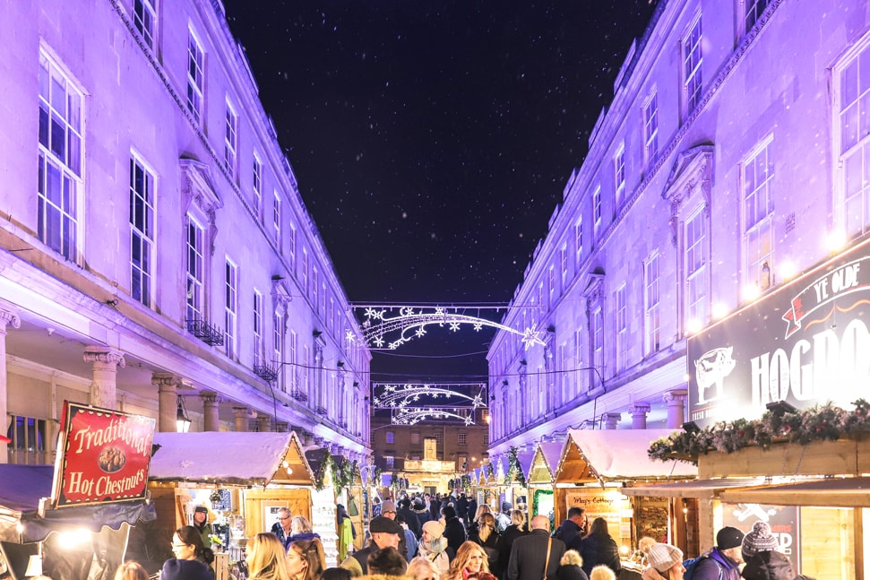 Bath Street Christmas Market