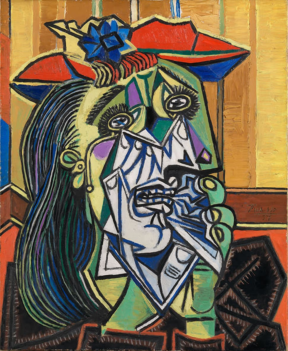 Picassos weeping woman