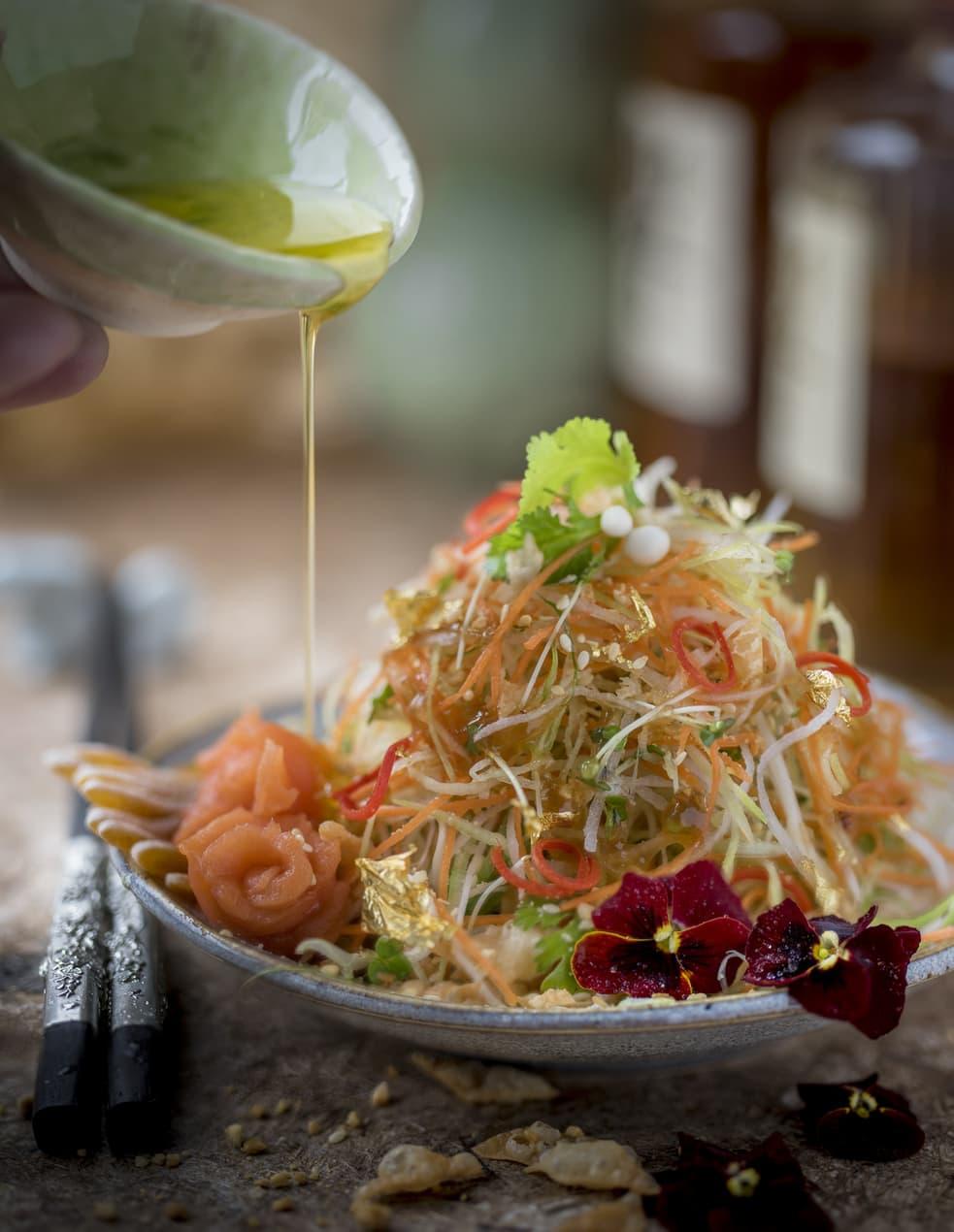 Yee Sang Salad at Kai