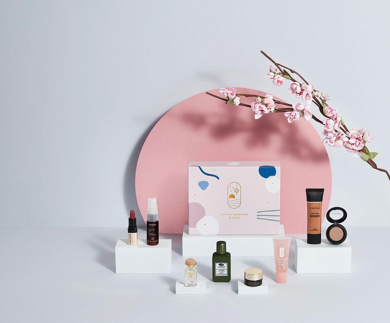 ESTÉE LAUDER Fresh New Beginnings Beauty Box, £28;
