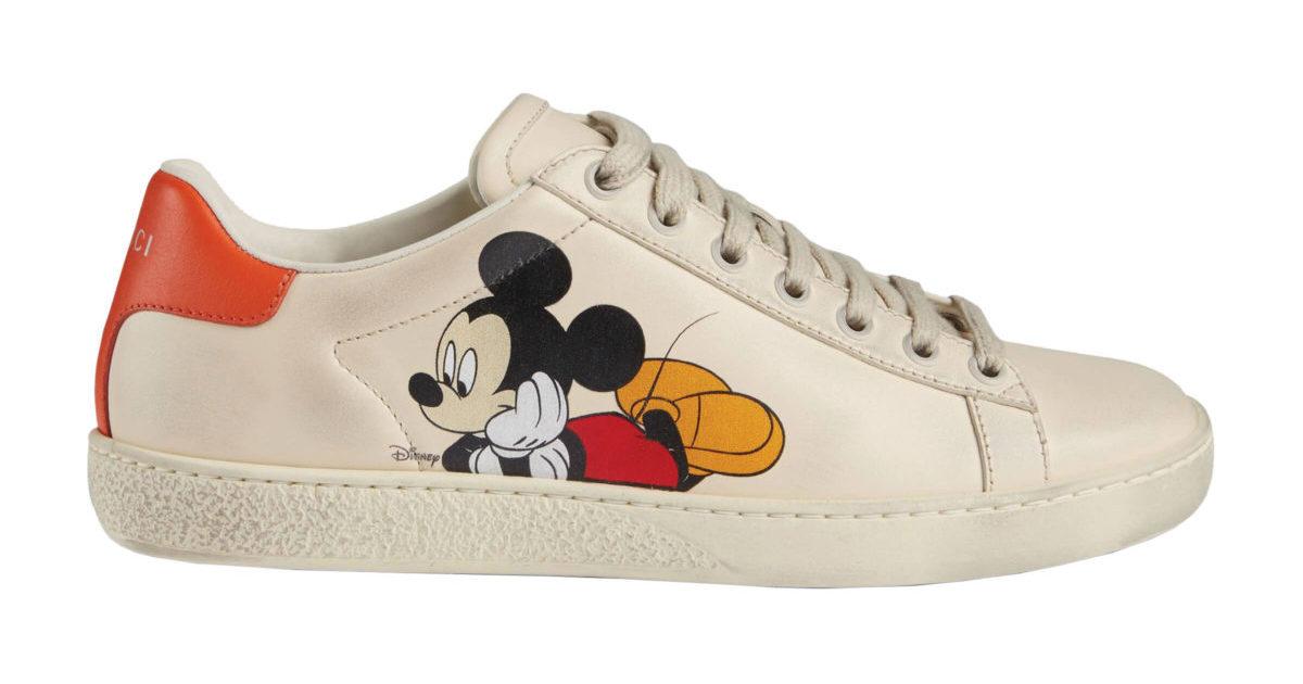 Men's Disney x Gucci Ace sneaker