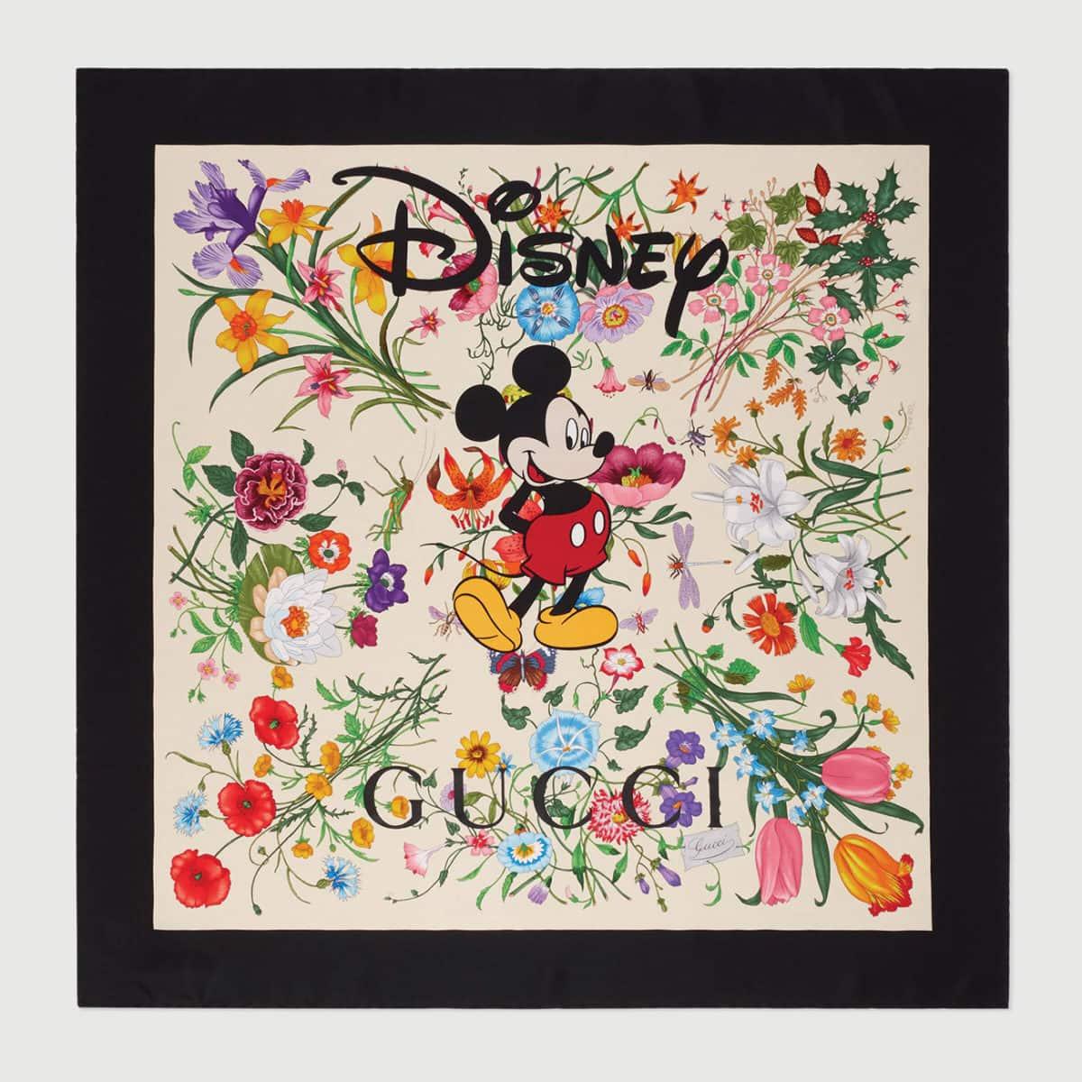 Disney x Gucci silk scarf